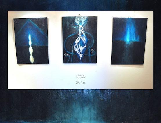 koa triptych